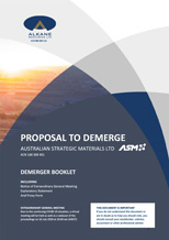Demerger proposal
